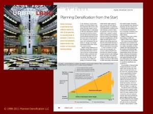 Planned Densification in Urban Land Magazine