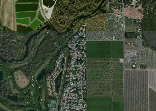 farmland urban mix